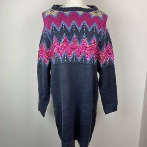Solutions! Shimmer Sweater Dress
